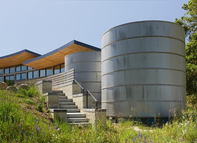Caterpillar House contemporary-exterior