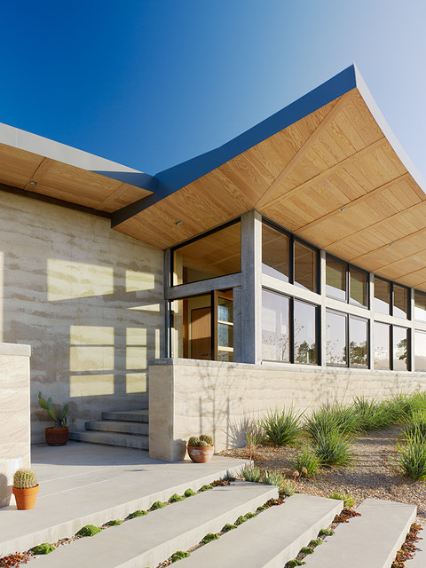 Caterpillar House contemporary exterior