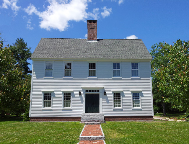 Cch deerfield colonial traditional exterior boston for Classic house builders