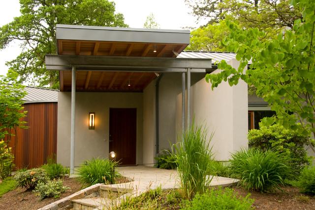 Entry Canopy contemporary-exterior