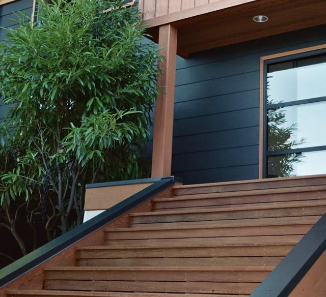 Cedar Park Ipe Deck Modern Exterior Seattle By