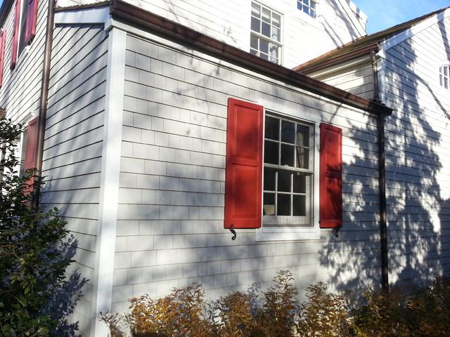 Cedar Roof 18 Perf Cedar Siding Maibec Seacoast Grey