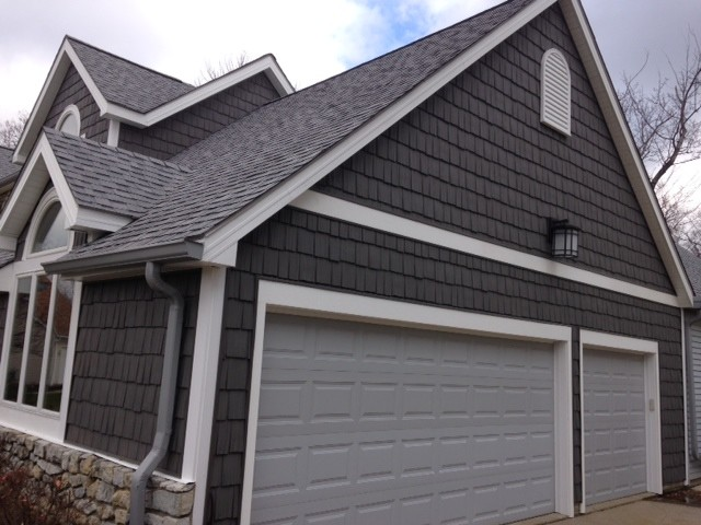 Cedar shake siding craftsman exterior cleveland by for How to get paint off siding