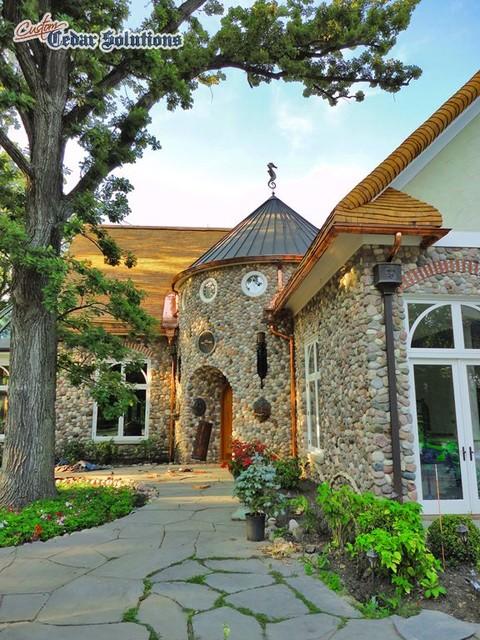 Cedar Solutions traditional-exterior