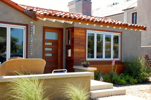 Cedar Street Residence Eclectic Exterior Los Angeles