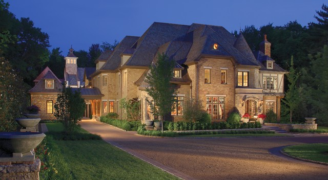 Celebrity homes traditional exterior nashville by Nashville tn home builders
