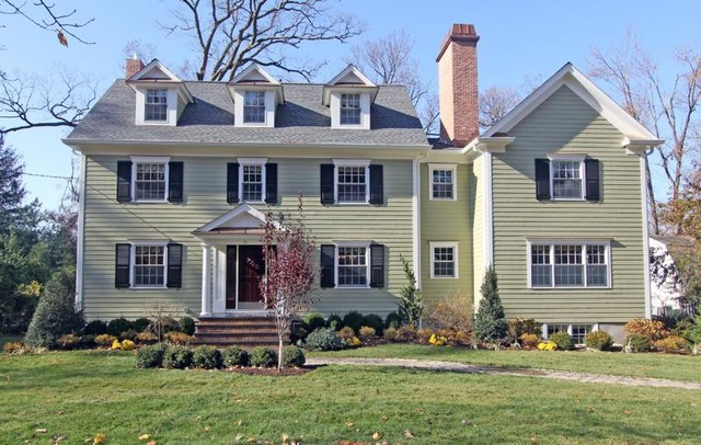 Center Hall Colonial Renovation + Addition