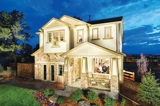Century Communities at The Overlook at Tallyn's Reach contemporary-exterior