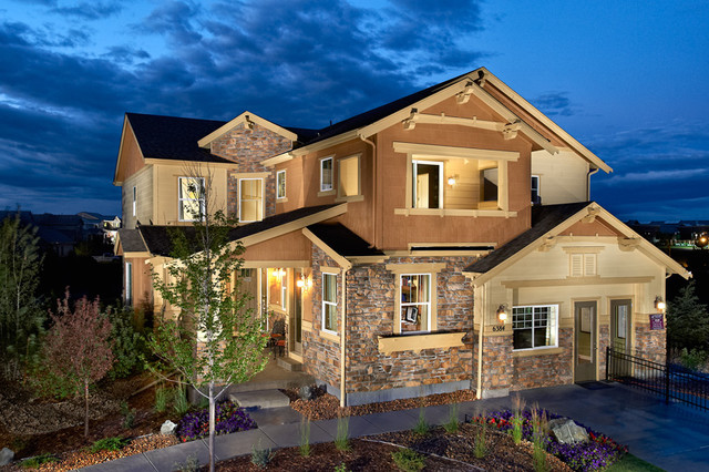 Century Communities at The Reserve at Wheatlands traditional-exterior