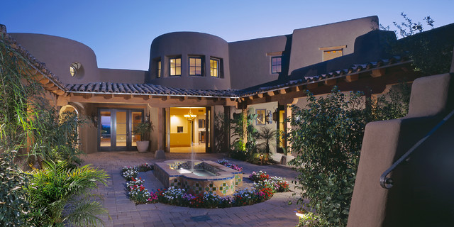 Century Custom Homes American Southwest Exterior