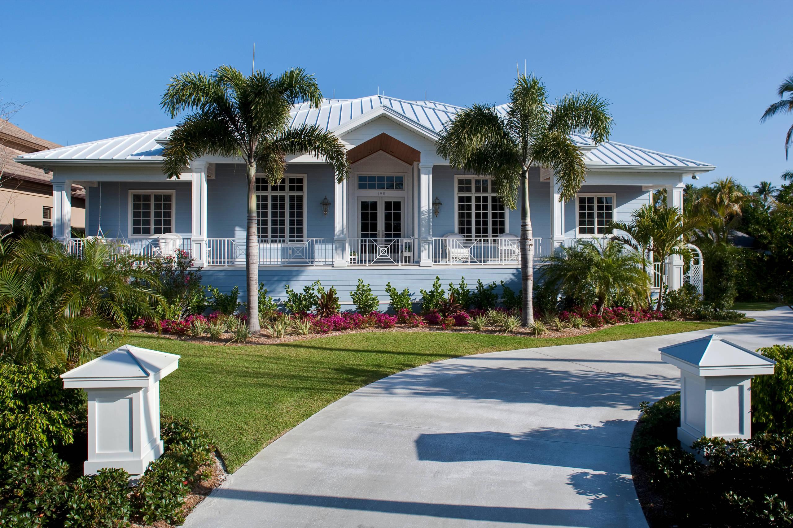 Certified Luxury Builders - 41 West - Old Naples Custom Home
