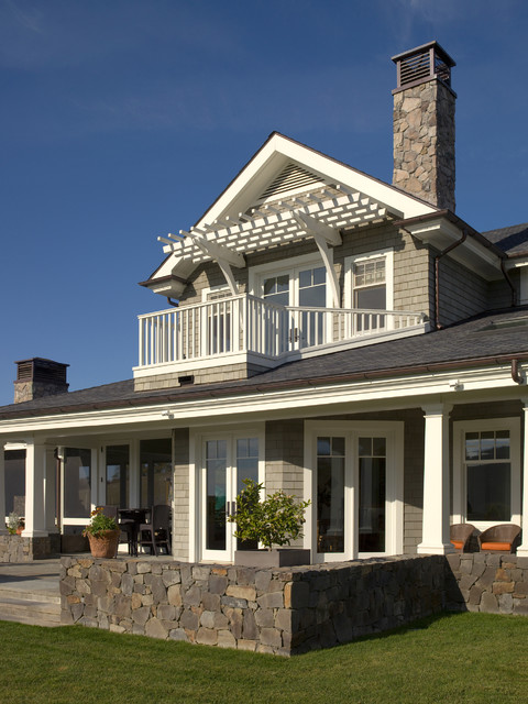 Chalk Hill Residence Outdoor Spaces Traditional