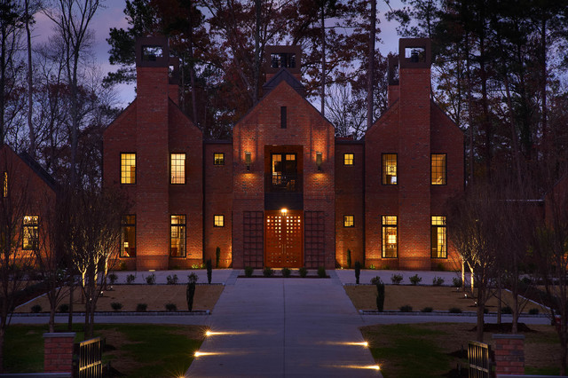Chancellor's Residence, NC State University transitional-exterior