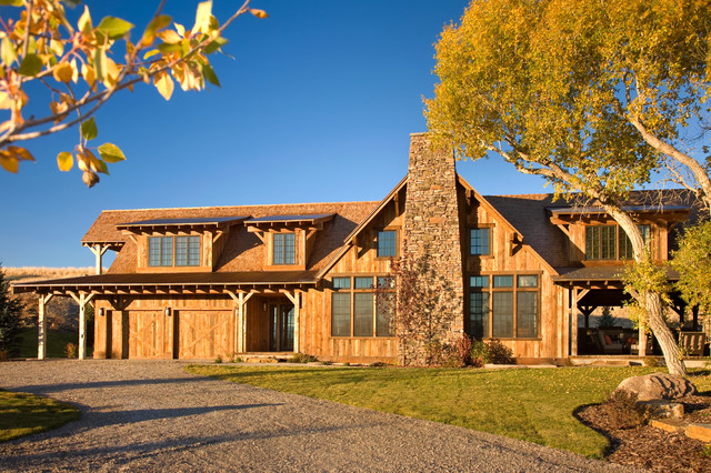 Channels Ranch rustic-exterior