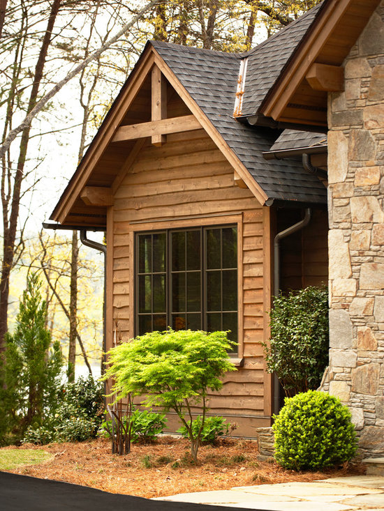 Rustic stone siding for Rustic siding ideas