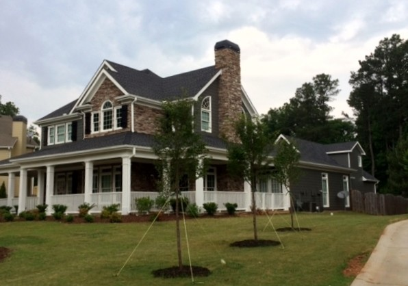 Charcoal paint cottage for Kendall charcoal exterior paint