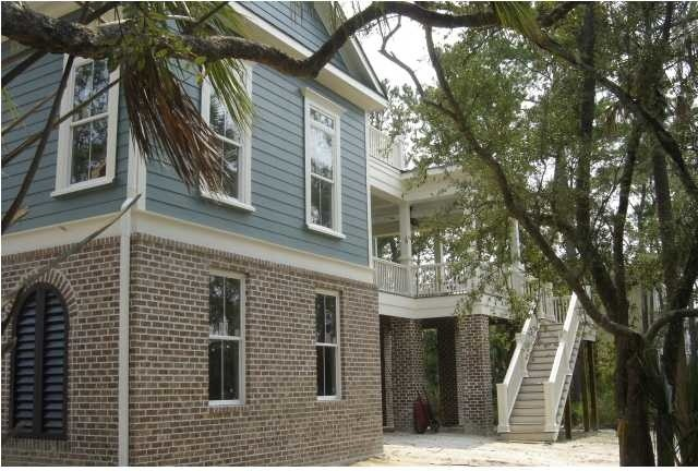 Charleston waterfront cottage traditional exterior for Bob chatham house plans