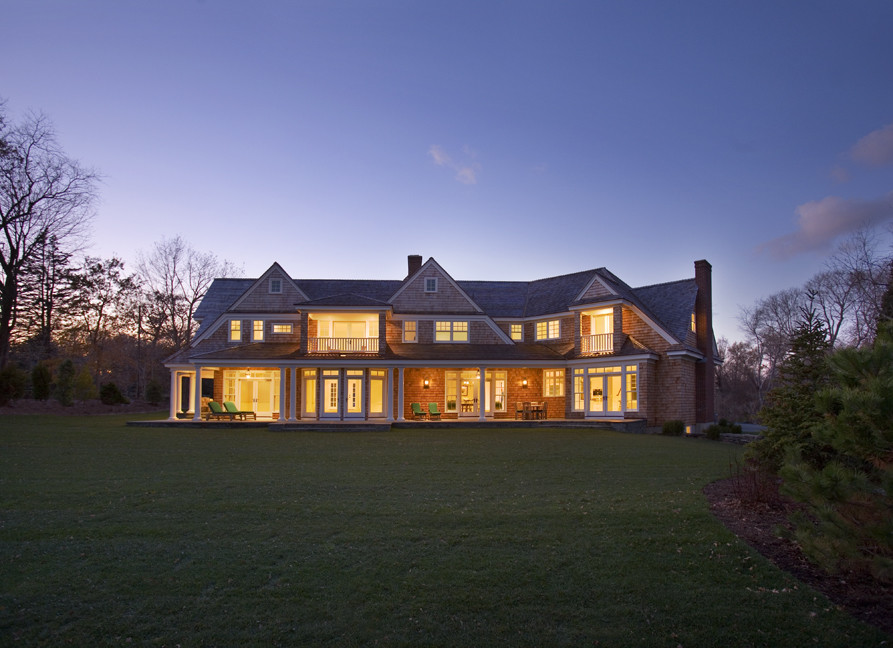 Example of a trendy exterior home design in Providence