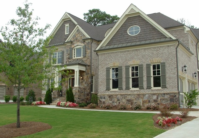 Chateau At Tree Lane Traditional Exterior Atlanta