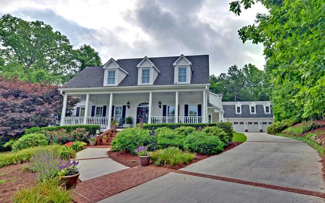 Chateau elan legends custom homes traditional exterior for Atlanta custom home builders