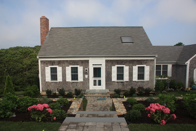 Chatham charm traditional exterior boston by for Cape cod exterior design
