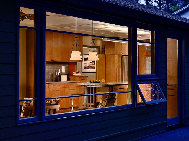Chef's Kitchen contemporary-exterior