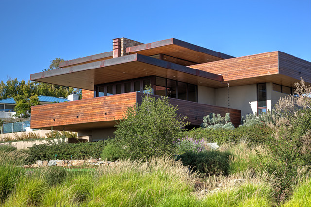 Frank Lloyd Wright Inspired House Plans | Houzz