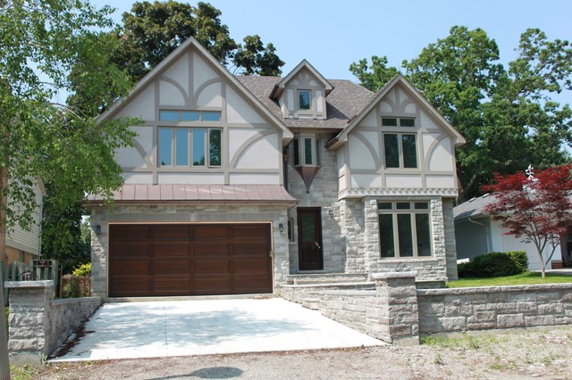 Chestnut Hills Tudor Style traditional-exterior
