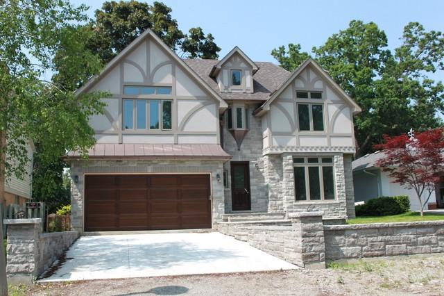 Chestnut Hills Tudor Style Traditional Exterior Toronto By Geometra Design Ltd