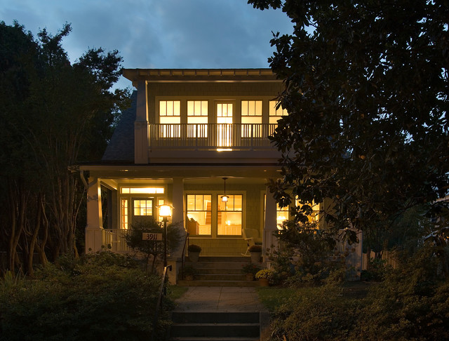 Chevy Chase Bungalow traditional-exterior