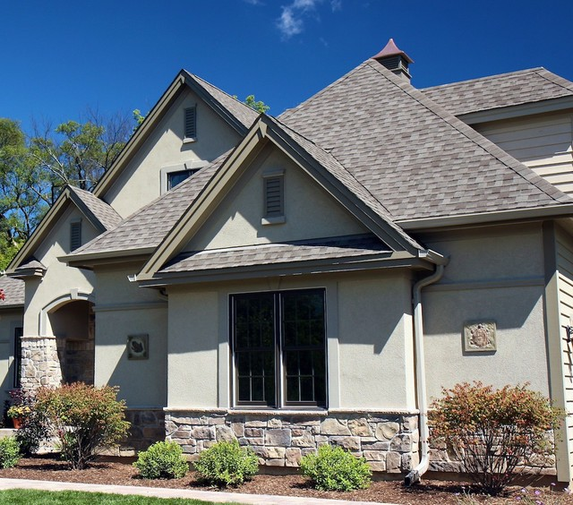 Chicago are exterior stone siding transformation for How to install stone veneer over stucco