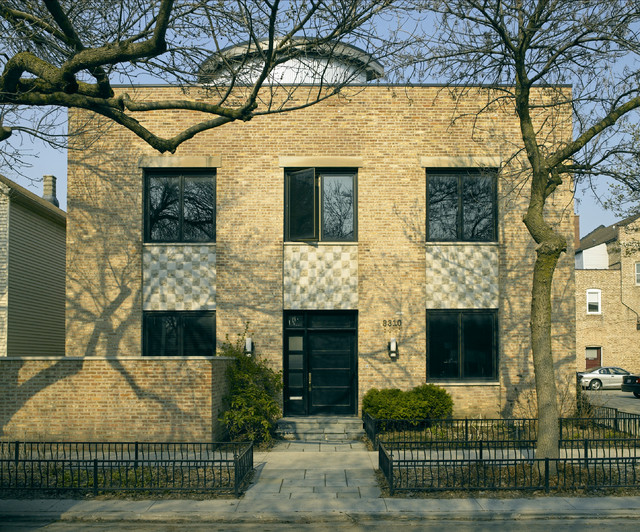 Chicago Residence 1 Exterior Chicago By Foster Dale Architects Inc