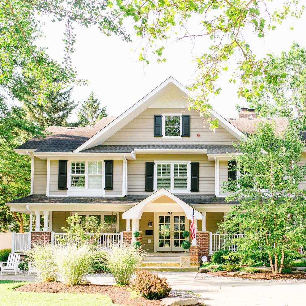 Home Design Ideas Exterior Photos: Chicago Suburban Home