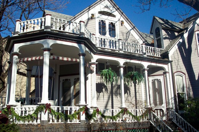 Chicago Victorian Circa 1864 Victorian Exterior Chicago By Painting In Partnership Inc