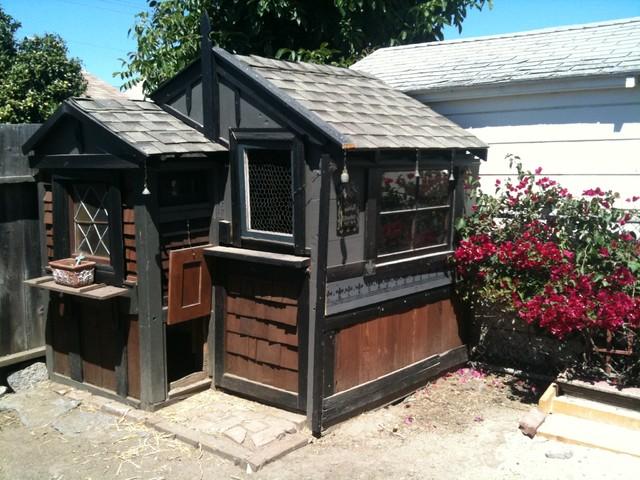 Chicken Coop eclectic-exterior