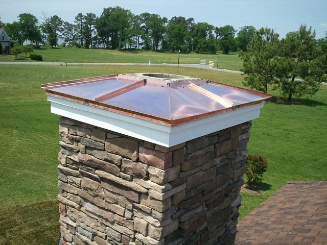 chimney jobs other metro by sage custom contracting finished chimney caps