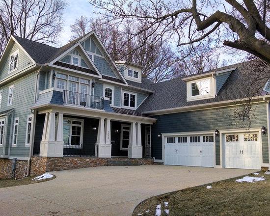craftsman blue gray exteriors home design photos amp decor
