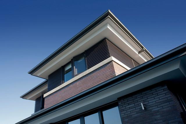 Ciarma residence exterior modern exterior melbourne for Modern exterior building materials