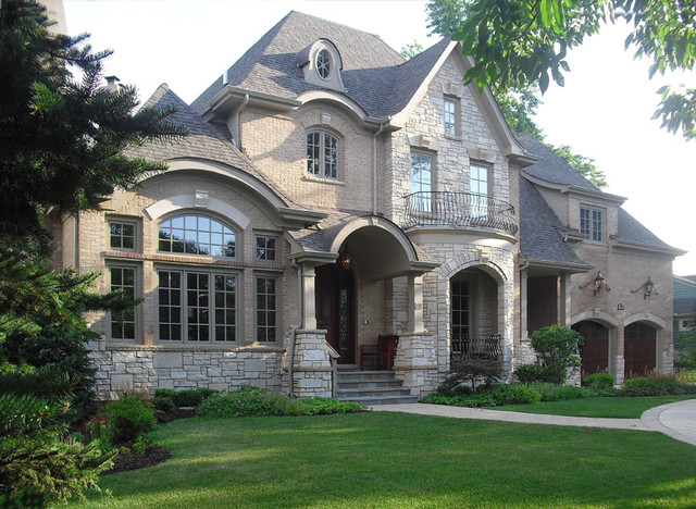 Rock For House Exterior : Clarendon hills traditional exterior chicago by