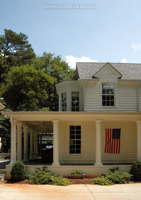 Classic American Cottage traditional-exterior