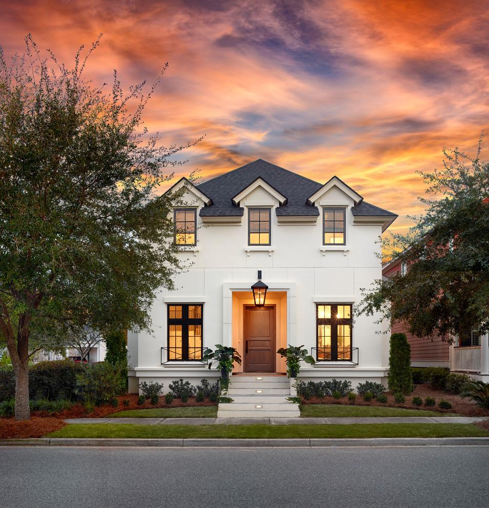 Home Design Ideas Exterior Photos: Classic Charleston Home