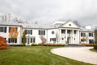 Classic Scarsdale, New York Colonial Exterior traditional-exterior