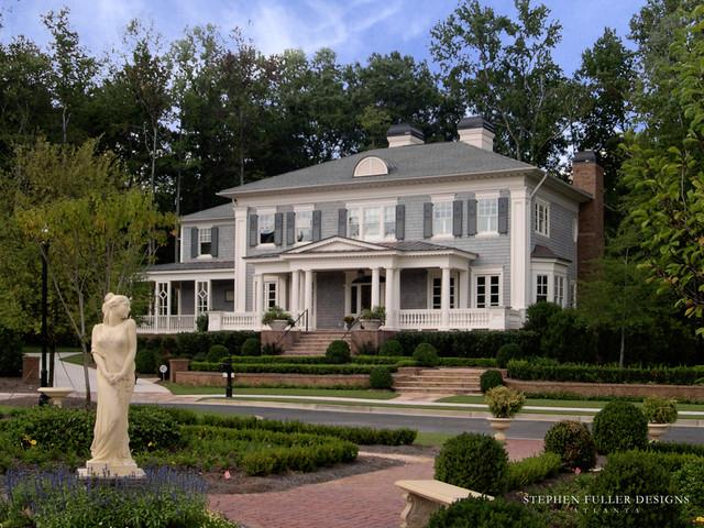 Classic Shingle Home traditional-exterior