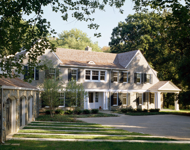 Classic Shingle Style Residence Victorian Exterior