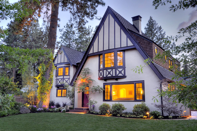 Classic tudor remodel in bend oregon Classic home paint colors