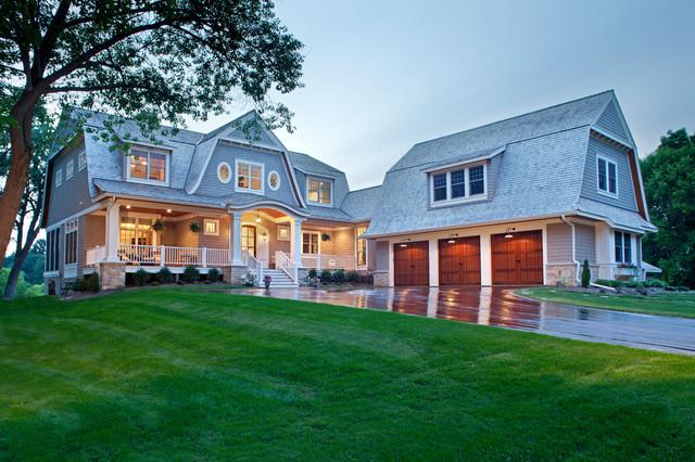 Classical Nantucket Dream Home beach-style-exterior