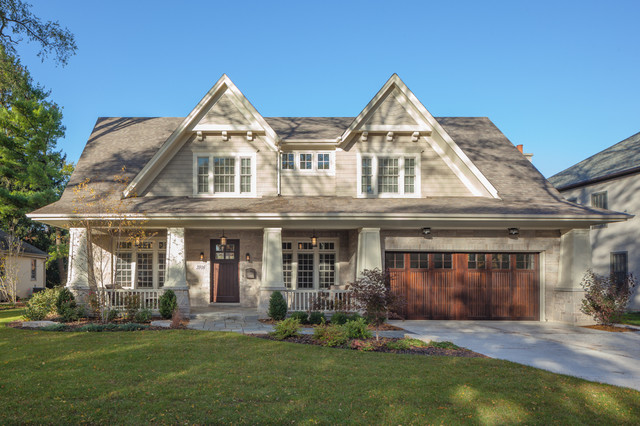 Clausen Project Traditional Exterior Chicago By Greenside Design Build Llc