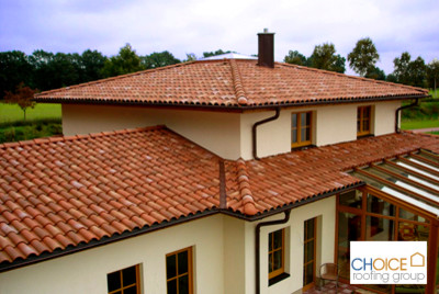 Clay Tile Roofing And Sun Room Traditional Exterior