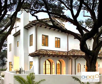Clay Tile Roofing Contractors Mediterranean Exterior