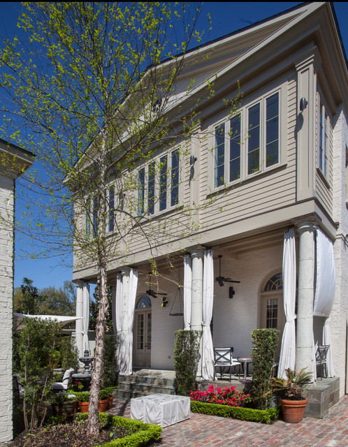 Clean Traditional Traditional Exterior Other By Ty Larkins Interiors